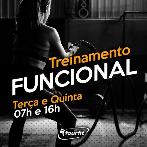 Treinamento Funcional - Academia Fourfit